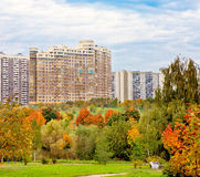 Urban landscape in autumn Royalty Free Stock Photography