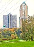 Urban landscape in autumn Royalty Free Stock Photos