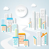 Urban landscape. Royalty Free Stock Photo