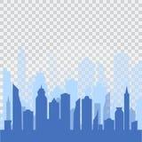 Urban landscape background Royalty Free Stock Image