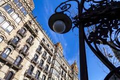 Urban landscape in Barcelona Stock Images