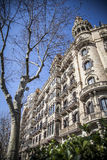 Urban landscape in Barcelona Stock Photos