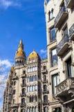 Urban landscape in Barcelona Royalty Free Stock Photo