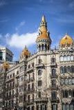 Urban landscape in Barcelona Royalty Free Stock Image
