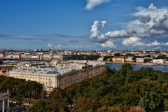Urban landscape, the city of St. Petersburg Royalty Free Stock Photos