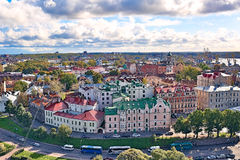 The urban landscape. the city of Vyborg. Royalty Free Stock Images