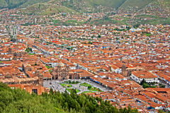 Urban landscape of Cusco Royalty Free Stock Photo