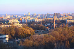 Urban landscape. Dnepropetrovsk Stock Photography