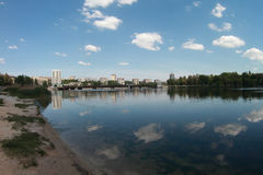 Urban landscape in Donetsk Stock Images