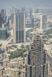 Urban landscape of Dubai, UAE stock photography