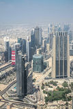 Urban landscape of Dubai, UAE royalty free stock images