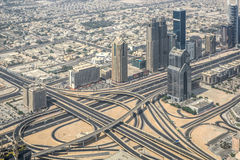 Urban landscape of Dubai, UAE stock photo