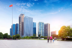 Urban Landscape in Hangzhou, China Stock Photos