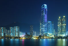 Urban landscape in Hong Kong Stock Photo