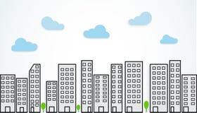 Urban landscape Stock Images