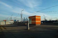Urban landscape im autum time Royalty Free Stock Images