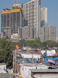 Urban landscape in India Stock Images