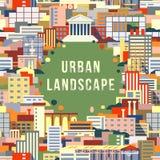 Urban landscape 1 Royalty Free Stock Image