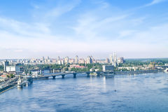 Urban landscape. Kiev Royalty Free Stock Images