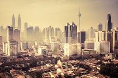 Urban landscape of Kuala Lumpur Stock Photo