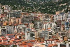 Urban landscape of Monte Carlo in Monaco Royalty Free Stock Photo