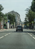 Urban landscape of Moscow. Royalty Free Stock Photography