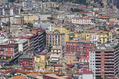 Urban landscape of Naples city Stock Photo