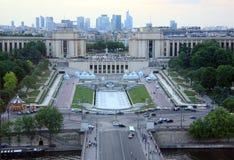 Urban landscape Paris Stock Images