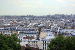 Urban landscape Paris Royalty Free Stock Photos