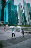 Urban landscape of Singapore Stock Photography
