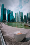 Urban landscape of Singapore Royalty Free Stock Photos