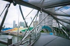 Urban landscape of Singapore Stock Photos