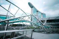 Urban landscape of Singapore Stock Photo