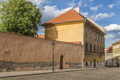 Urban landscape - the street Loretanska Stock Photo