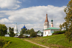 The urban landscape. Suzdal. Russia Stock Images