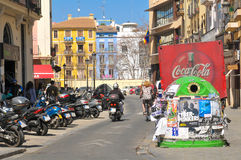 Urban landscape in Valencia Royalty Free Stock Photography
