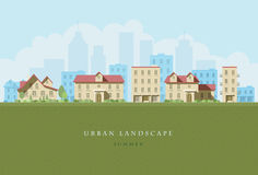 Urban Landscape Royalty Free Stock Images
