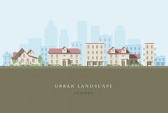 Urban Landscape Royalty Free Stock Image