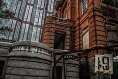 urban landscape of the Vladivostok suburb stock photos