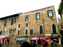 Urban lanscape in Venice Stock Images