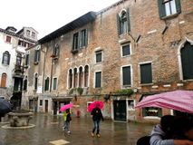 Urban lanscape in Venice Royalty Free Stock Photography