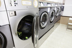 Urban laundry Stock Image