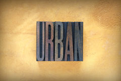 Urban Letterpress Stock Photos
