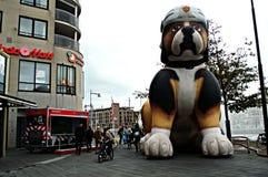 Urban life in Alkmaar 23 Stock Image