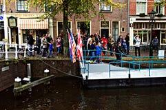 Urban life in Alkmaar 18 Stock Photo