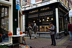 Urban life in Alkmaar 20 Royalty Free Stock Photos