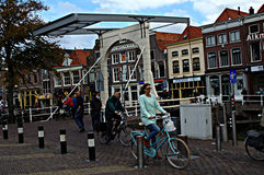 Urban life in Alkmaar 22 Royalty Free Stock Image