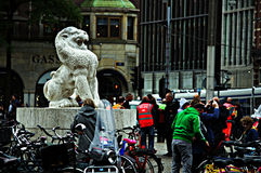 Urban life in Amsterdam 09 Royalty Free Stock Photo