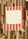 Urban life-  background Stock Image