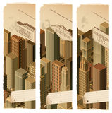 Urban life-  banners Stock Images